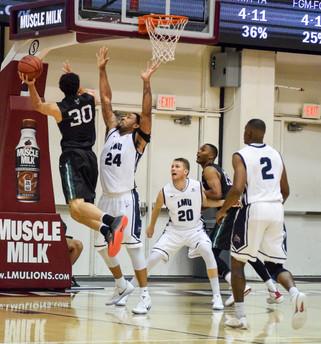 Loyola Marymount Men's Basketball Downs Portland State in Los Angeles