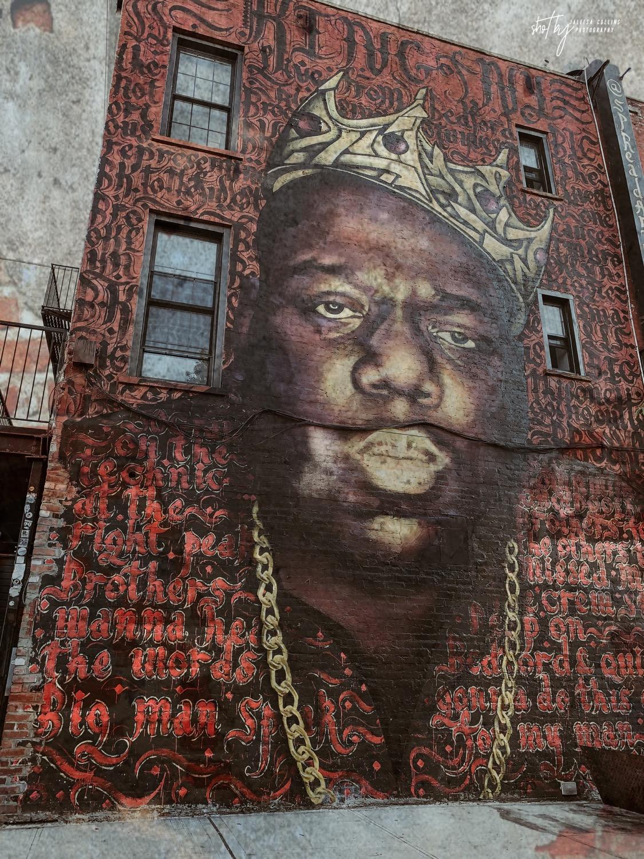 King of NY Biggie Mural