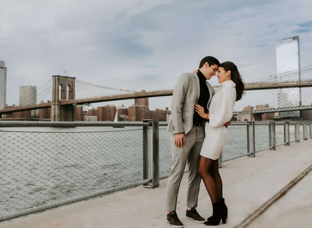 Miss Love / Francesca & Leonardo / Surprisal Proposal in Brooklyn Bridge