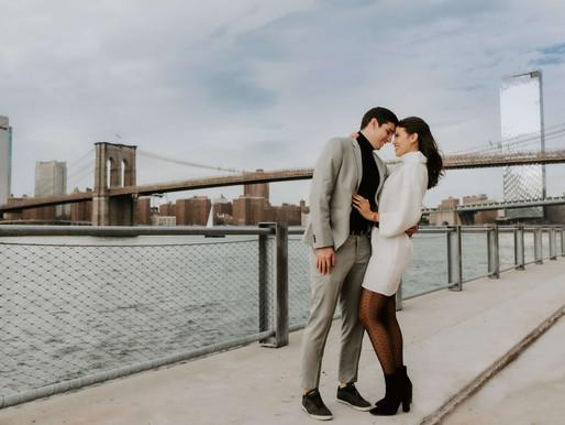 Miss Love / Francesca & Leonardo / Surprisal Proposal in Brooklyn Bridge