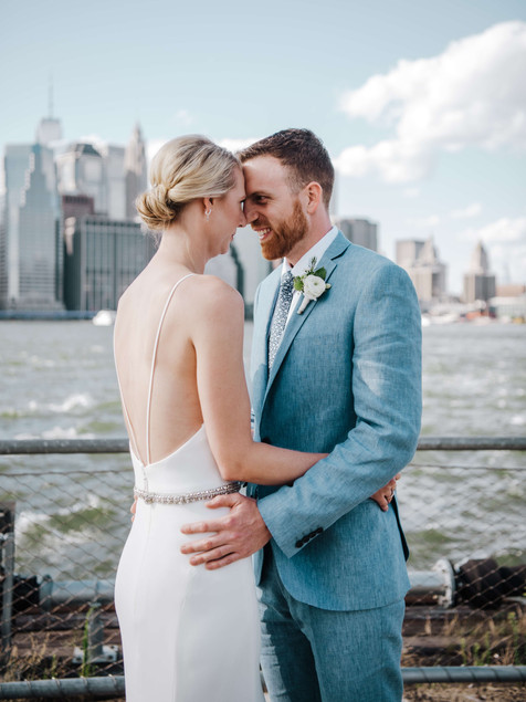 Modern Wedding at Celestine - Katelin & Nicolas - Brooklyn