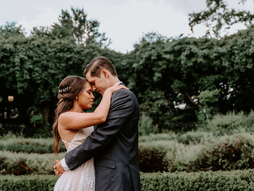 Natalia & Michael - Romantic Central Park Elopement