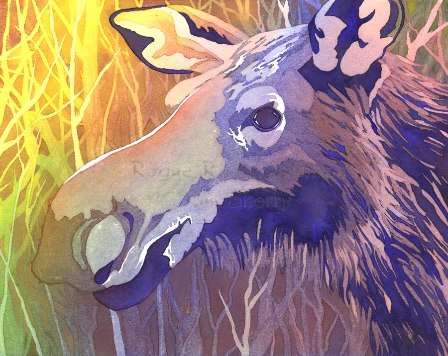 An Unusual Moose