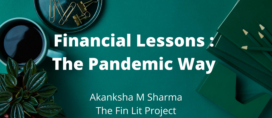 It took a pandemic crisis for the world to realize the financial aesthetics of life