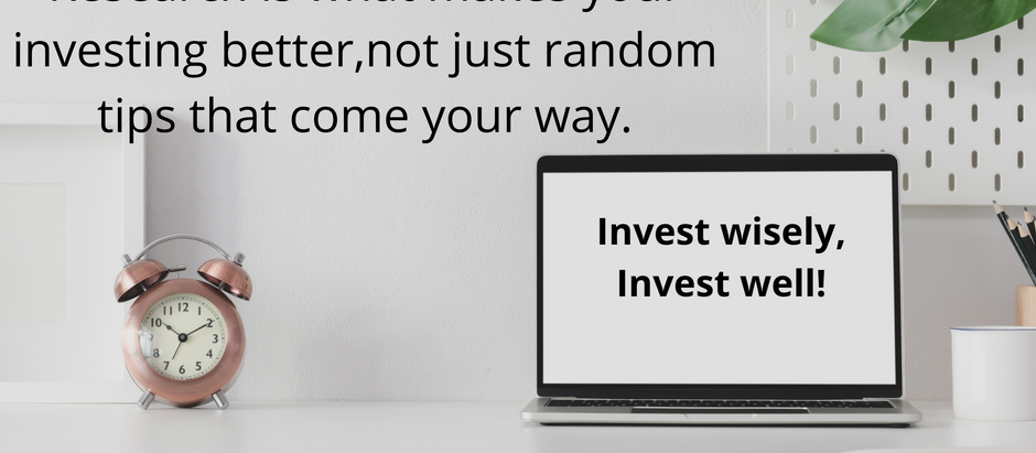 Becoming an Investor?