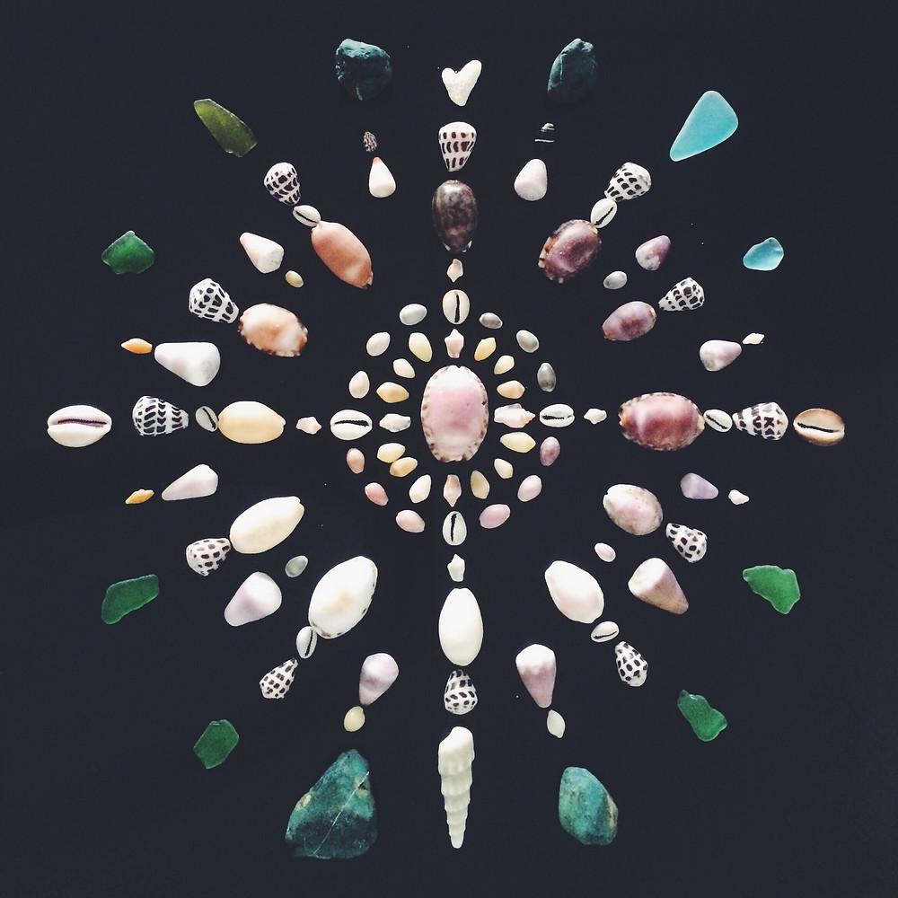 Mandala minéral