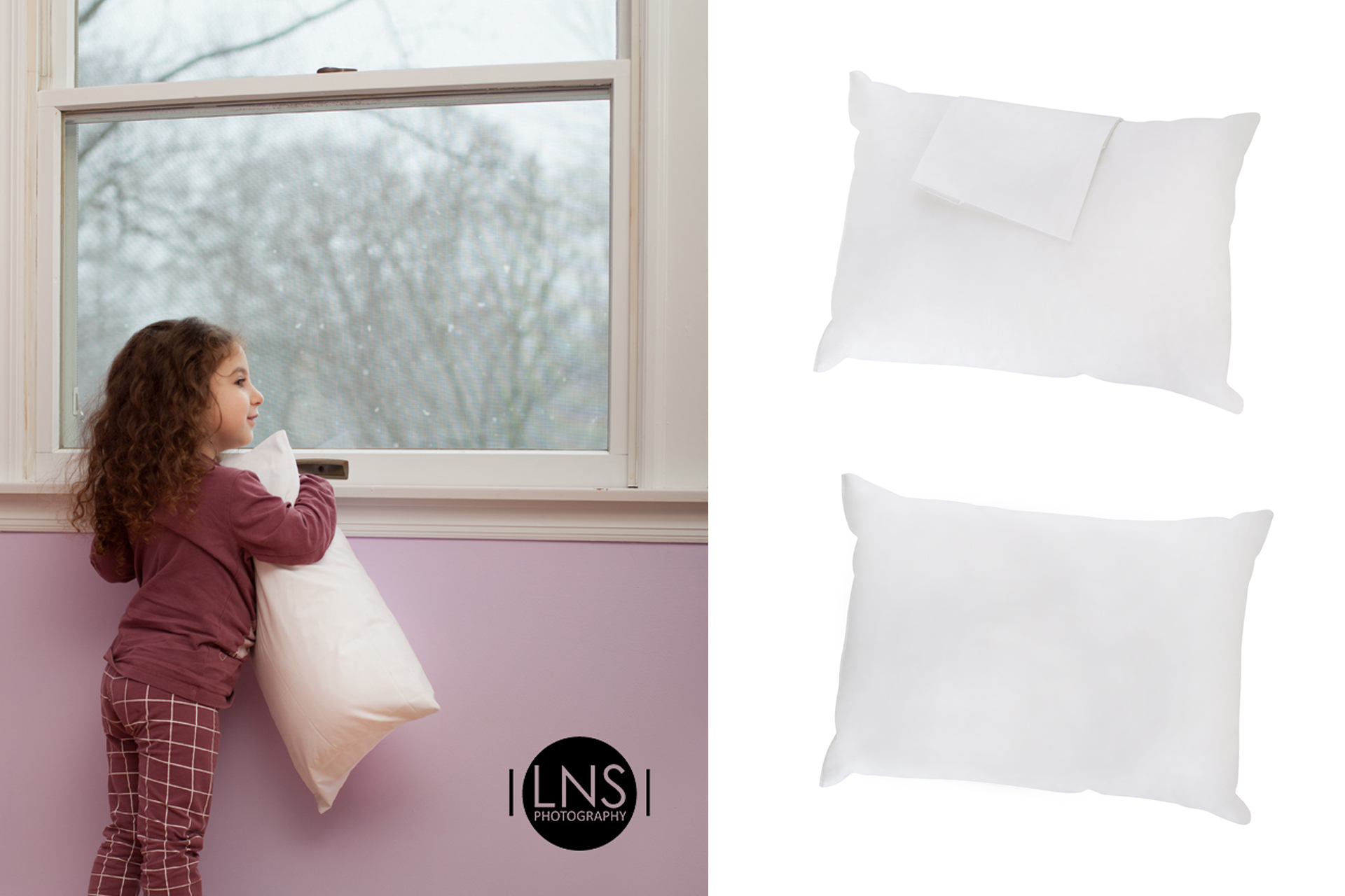 product photography pillow