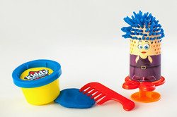 product photography play dough