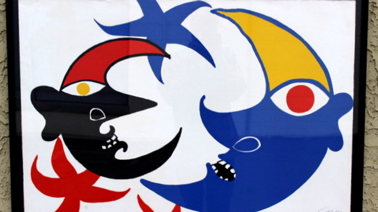 Calder Abstract Lithograph