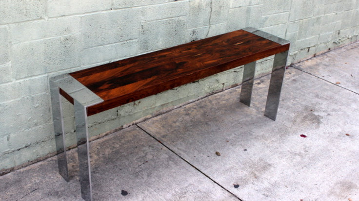 Rosewood MCM Table attributed to Milo Boughman