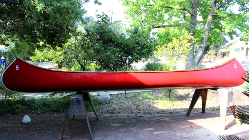 Sixteen Foot Old Town Canoe