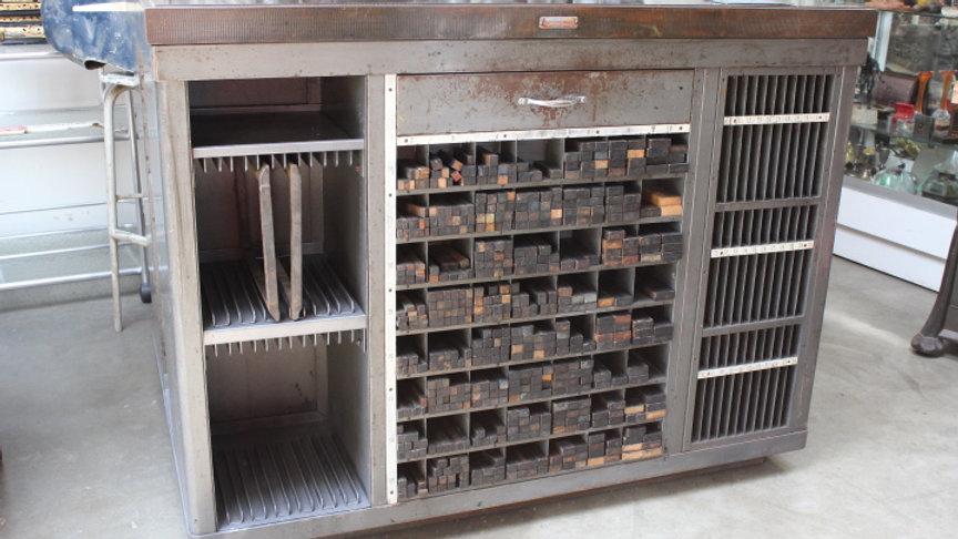 Hamilton Letterpress Table/ Island