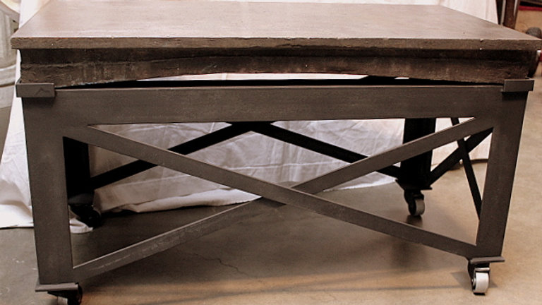 Heavy Industrial Coffee Table