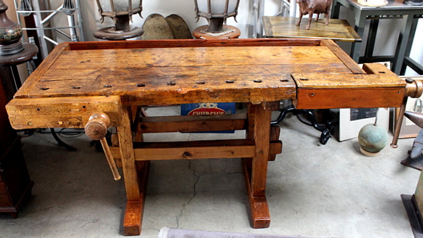 Old Carpenters Workbench