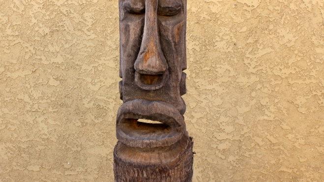 Carved Hawaiian Tiki