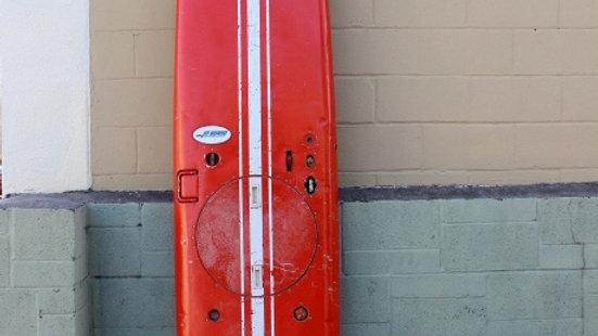 """1960""""s Aluminum Jet Surfboard"""