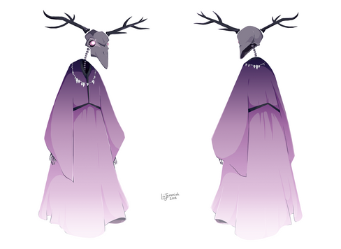 Major Concept Art Project - Character 2