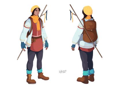 Major Concept Art Project - Character 1