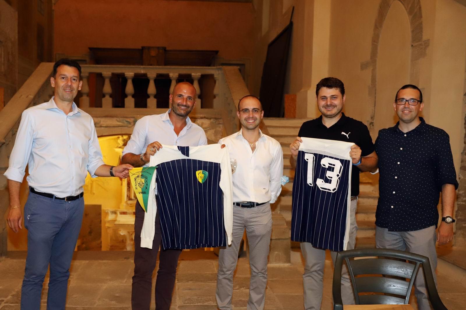 Da sinistra: Bodrito, Daino, Dessino, Di Blasi e Fonte (foto Franco Muzzi)