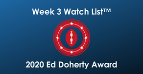 2020 Ed Doherty Award Week 3 Watch List™ features 50 Arizona Prep Football Players