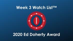 2020 Ed Doherty Award Week 3 Watch List™ features 50 Arizona Prep Football Players