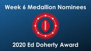 Gingg, Jaramillo, Jones, Lara, Marchiol, Williams & Wright Earn Week 6 EDA Nomination Medallions