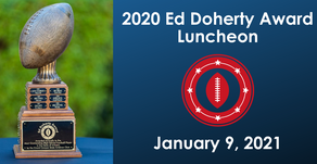 Grand Canyon State Gridiron Club to host Ed Doherty Award Luncheon on January 9, 2021