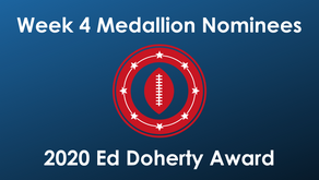 Calloway, Gleash, London, Martin, Mast, Richardson, Stallworth are Week 4 Ed Doherty Award Nominees