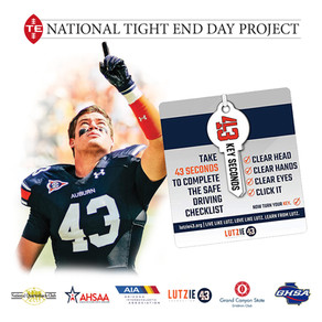 NQBC, Lutzie 43 activate H.S. Tight Ends in Campaign Against Distracted Driving