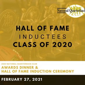 "Roman Gabriel, James ""Shack"" Harris, Kurt Warner, Doug Williams Inducted into NQBC Hall of Fame"