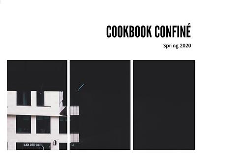 Cookbook Confiné