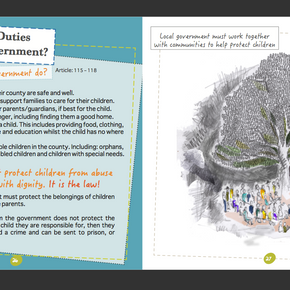 Child Rights Leaflet, Save The Children, South Sudan
