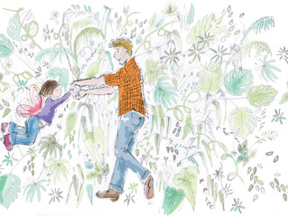 Published Illustrations for Children's Book on Autism.