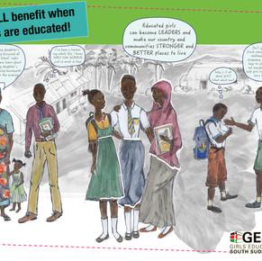 DfID Girls Education Project Info Sheet, South Sudan