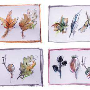 Autumn Gift Tags