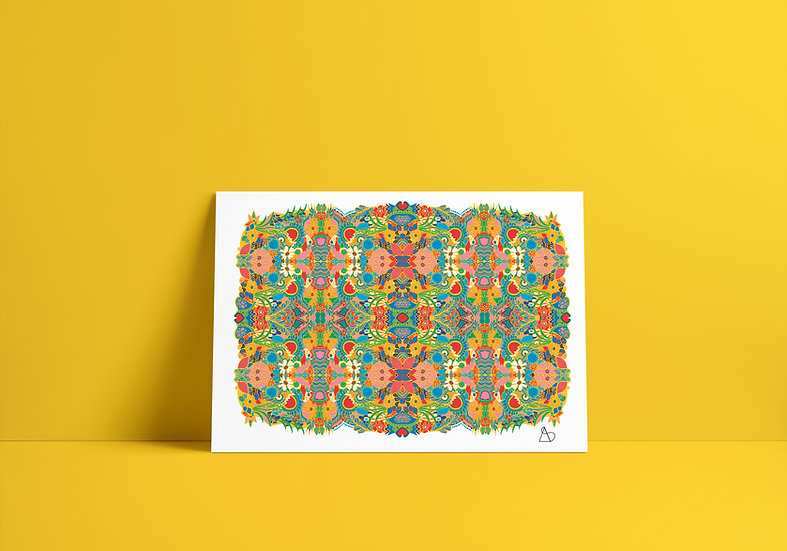 A3 Kaleidoscope Print