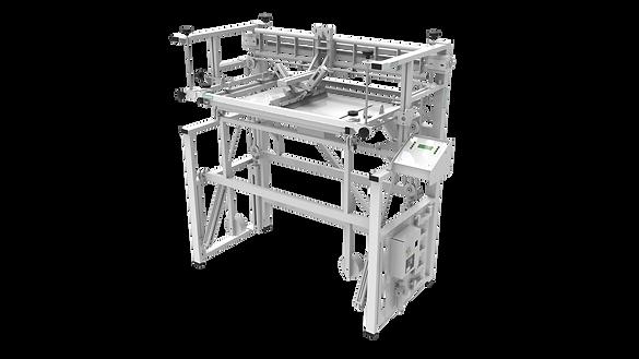 A2 Silkograph Silkomate™ Platelocater™ - плоскопечатный трафаретный станок-полуавтомат (шелкография)