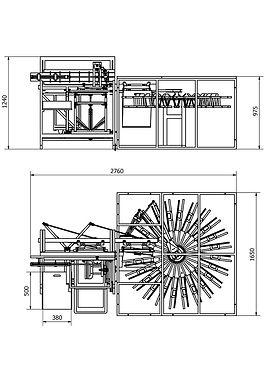 Silkograph Silkomate™ Ventidryer™ - полуавтоматическая линия по трафаретной печати пакетов A3 с встроенной вентиляторной сушкой (шелкография)