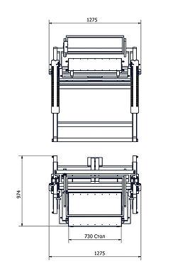 Плоскопечатный ручной вакуумный станок A2 SilkographScreenhand