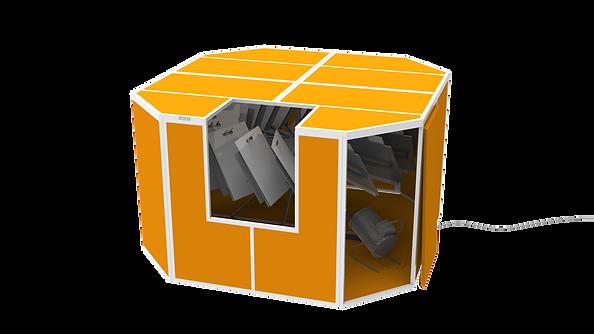 Silkograph Ventidryer™ - cушка вращения для отпечатанных пакетов (трафаретная печать - шелкография)