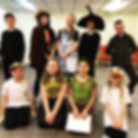 YC Durham The Drama Tree kids theatre group performing Hansel and Gretel  in Ouston