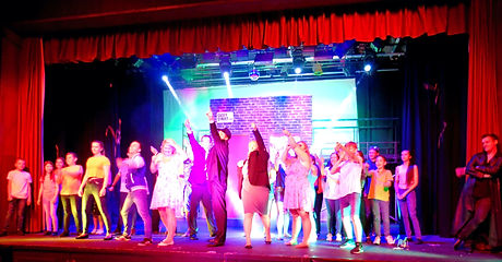 YC Durham youth connection theatre company chester-le-street our house musical