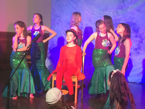 YC Durham The Drama Tree performing The Little Mermaid musical in Chester-le-Street