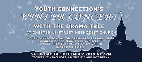 YC Durham youth connection theatre company chester-le-street winter christmas concert