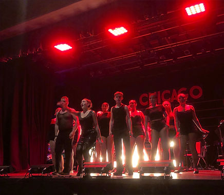 YC Durham youth connection theatre company chester-le-street Chicago musical