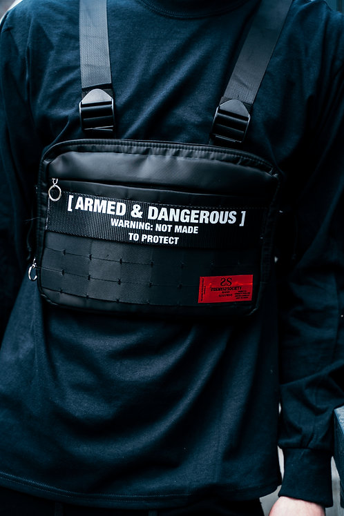 ARMED& DANGEROUS CHEST BAG