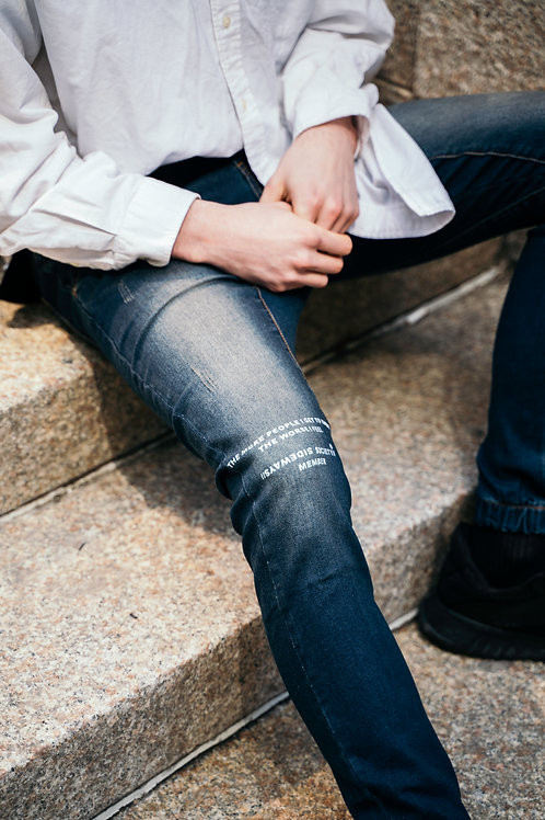 ALONE RINSE JEANS