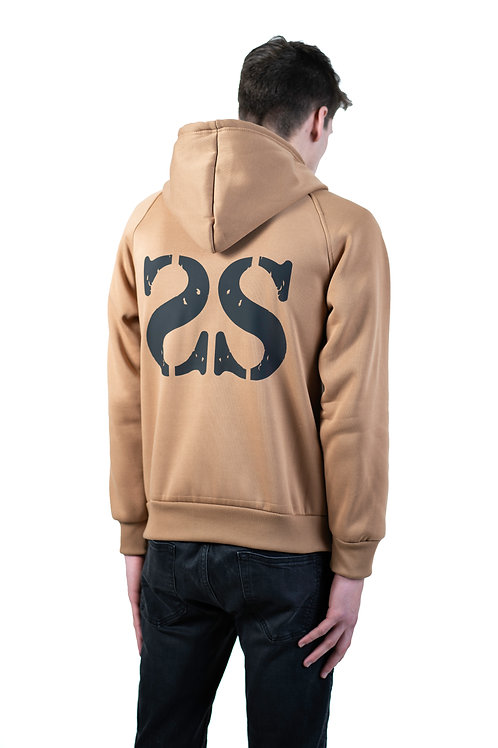 OUT OF MIND TAN HOODIE