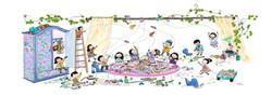 Illustration_Interior_People_Group_Study