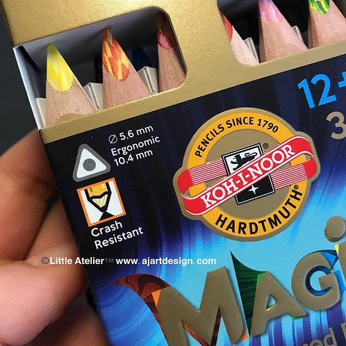 Koh-I-Noor Magic Multicolour Jumbo Set